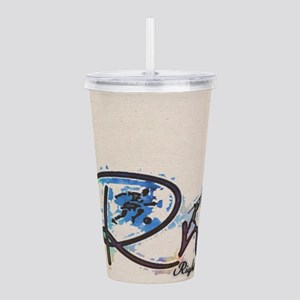 Righton Floral T Acrylic Double-Wall Tumbler