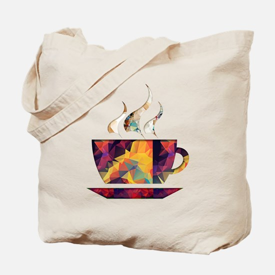Colorful Cup of Coffee copy Tote Bag