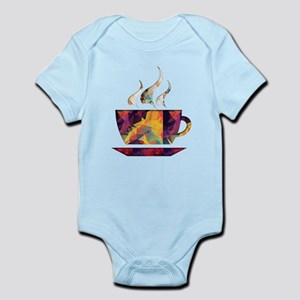 Colorful Cup of Coffee copy Body Suit