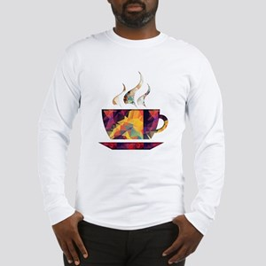 Colorful Cup of Coffee copy Long Sleeve T-Shirt