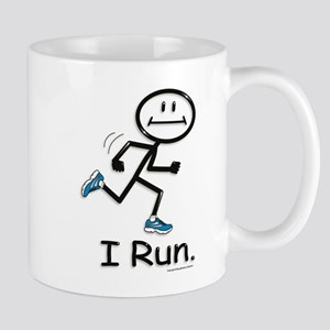 Running Stick Figure Mug