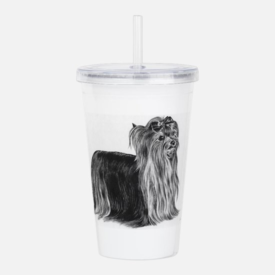 Yorkshire Terrier Acrylic Double-wall Tumbler