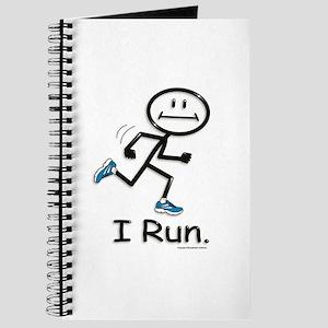 Running Stick Figure Journal