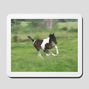 Running Foal Mousepad