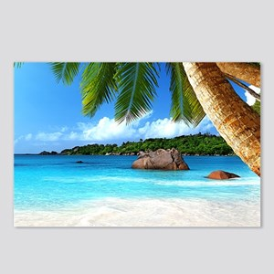 Tropical Island Postcards (Package of 8)