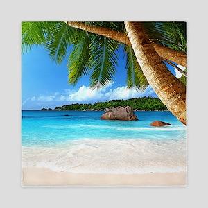 Tropical Island Queen Duvet