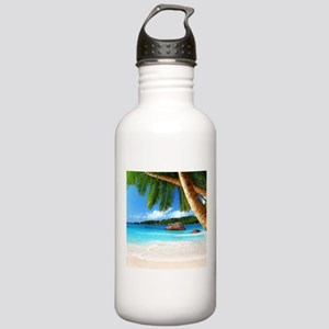Tropical Island Water Bottle