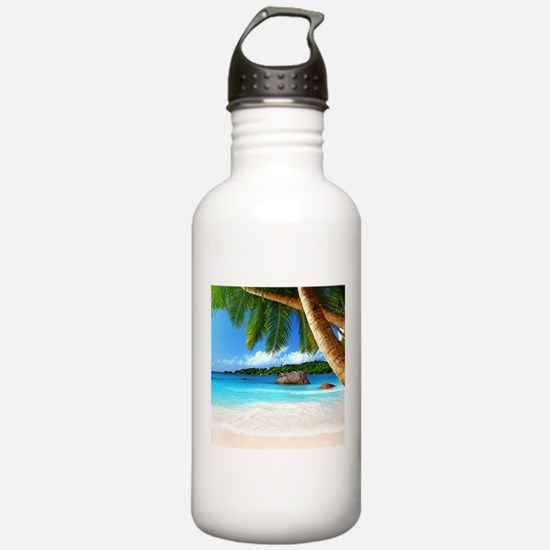 Tropical Island Water Bottle