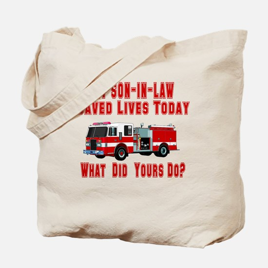 Son In Law-What Did Yours Do? Tote Bag
