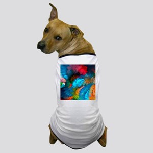 Abstract Clouds Dog T-Shirt