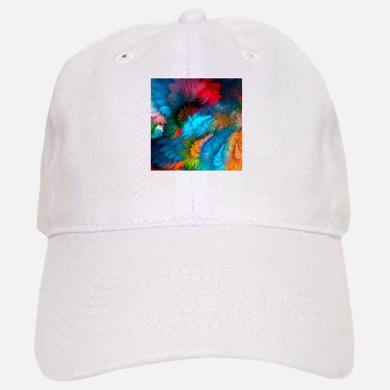 Abstract Clouds Baseball Baseball Baseball Cap