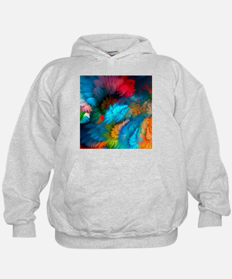Abstract Clouds Hoodie