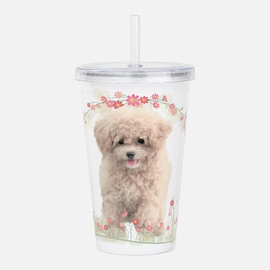 flowers.png Acrylic Double-wall Tumbler