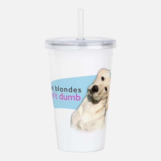 blondes.png Acrylic Double-wall Tumbler