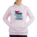 pawprints Women's Hooded Sweatshirt