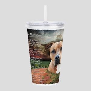 godmadedogs Acrylic Double-wall Tumbler