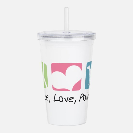 peacedogs.png Acrylic Double-wall Tumbler