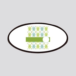 Golf Argyle Pattern Patches