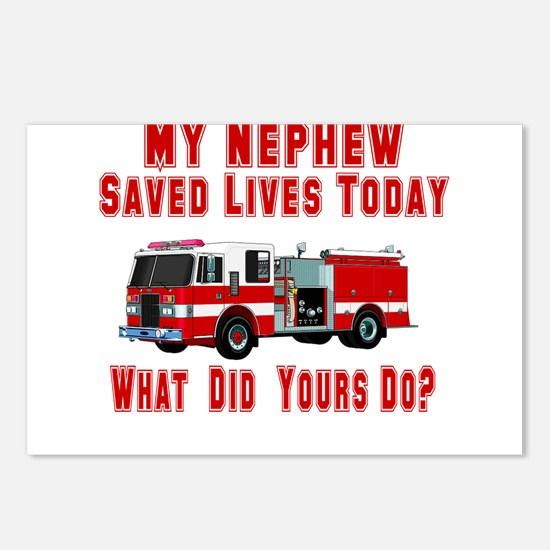 Nephew-What Did Yours Do? Postcards (Package of 8)
