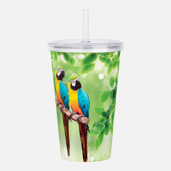 Macaws Acrylic Double-wall Tumbler