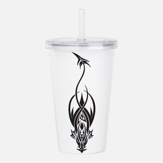 tribal.png Acrylic Double-wall Tumbler