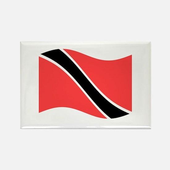 Waving Trinidad-Tobago Flag Magnets