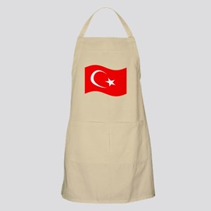 Waving Turkey Flag Apron