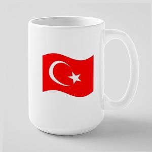 Waving Turkey Flag Mugs