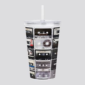 Cassette Tapes Acrylic Double-wall Tumbler