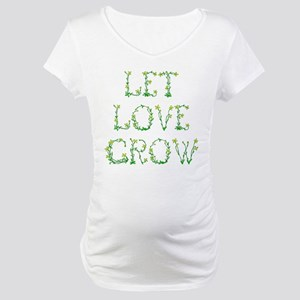 Let Love Grow Maternity T-Shirt