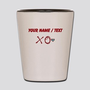 Custom XO Love Shot Glass