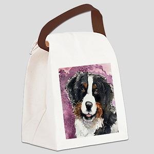 Bernese Mountain dog Canvas Lunch Bag