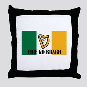 Eire Go Bragh Throw Pillow