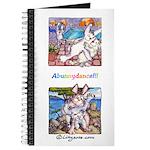 Cute Cartoon Rabbit Double Dip 8x5 Journal