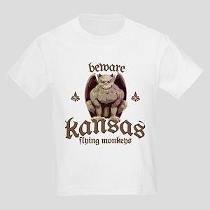 Beware Flying Monkeys! Kids Light T-Shirt