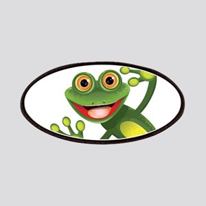 Happy Green Frog Patches