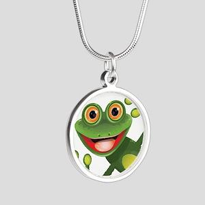Happy Green Frog Necklaces