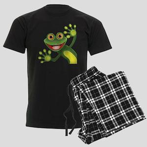 Happy Green Frog Pajamas