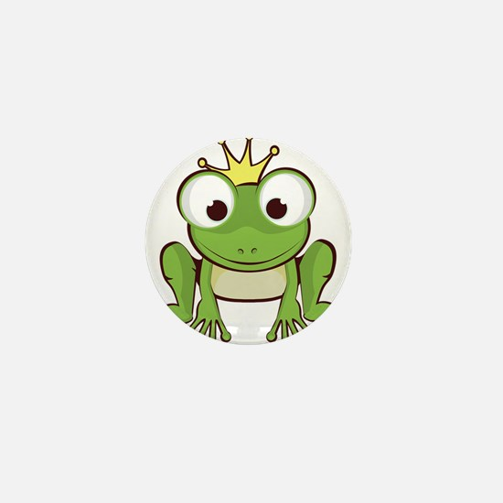 Frog Prince Mini Button
