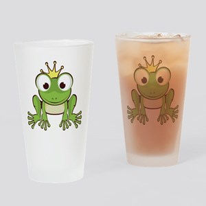 Frog Prince Drinking Glass