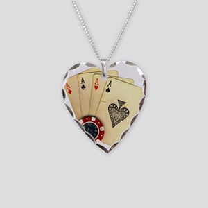 Poker - 4 Aces Necklace