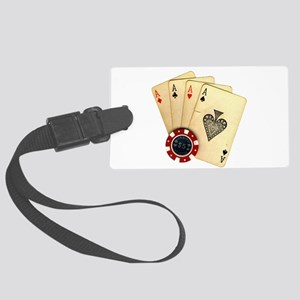 Poker - 4 Aces Luggage Tag