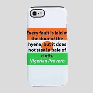 Every Fault Is Laid iPhone 7 Tough Case