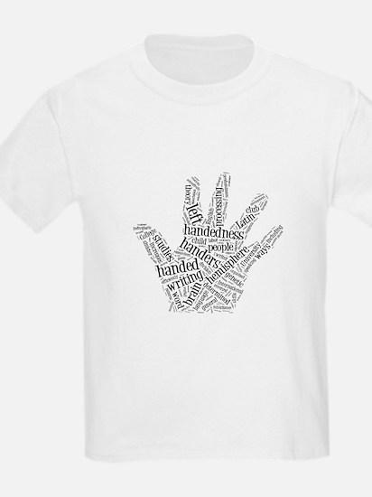 Left Handed Word Cloud T-Shirt