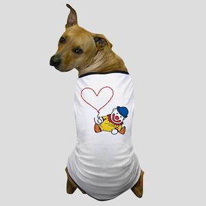 Clown Heart Caption Dog T-Shirt