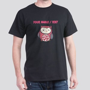 Custom Red Love Owl T-Shirt