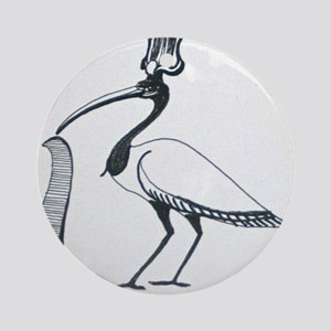 Egyptian Ibis Round Ornament