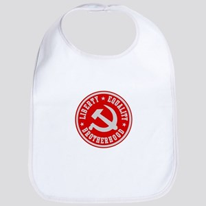 LIBERTY EQUALITY BROTHERHOOD Bib