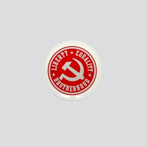 LIBERTY EQUALITY BROTHERHOOD Mini Button