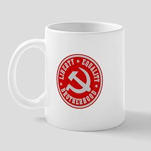 LIBERTY EQUALITY BROTHERHOOD Mug